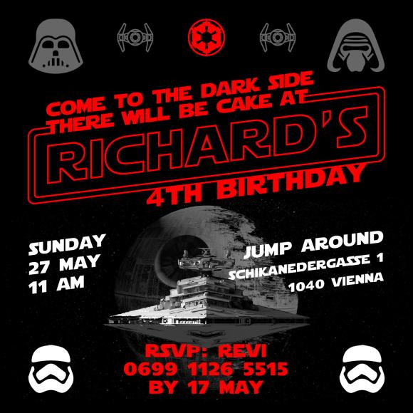 richard-4th-bday-invitation