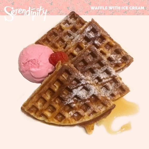 waffle-with-ice-cream